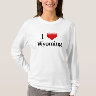 I Heart Wyoming T-Shirt