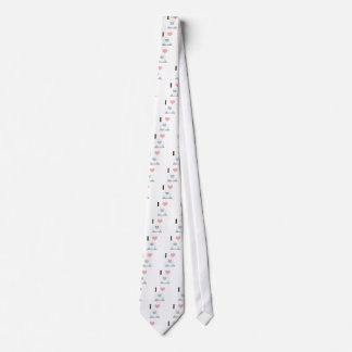 I heart yeti tie