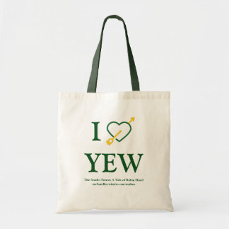 """I *Heart* YEW"" Tote Bag"