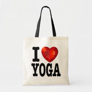 I Heart Yoga tote