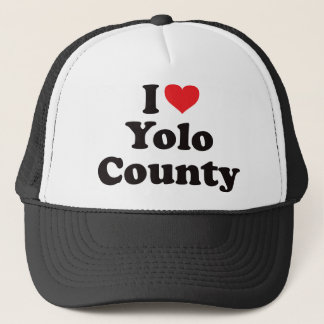 I Heart Yolo County Trucker Hat