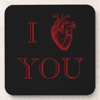 I Heart You Coasters