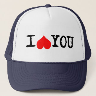 I Heart You Customizable Trucker Hat