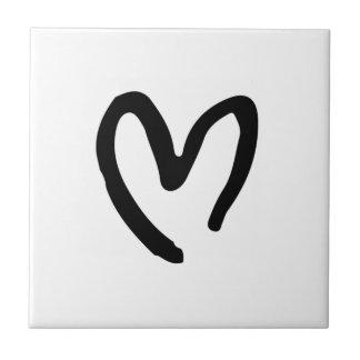 I heart you tile