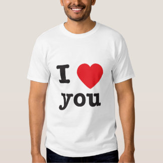 I Heart You Tshirts
