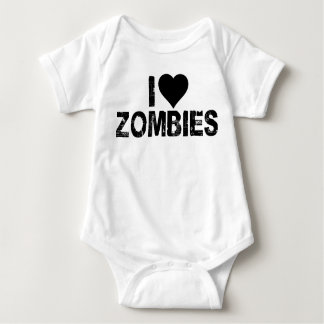 I {HEART} ZOMBIES BABY BODYSUIT