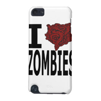 I Heart Zombies iPod Touch 5G Case