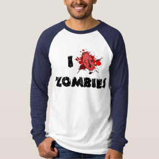 I Heart Zombies Long Sleeve T-shirt