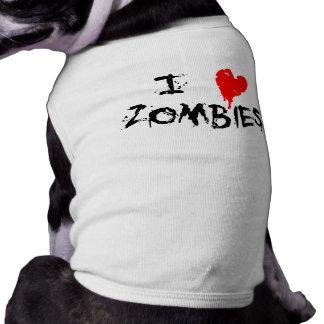 I Heart Zombies - Pet Tee