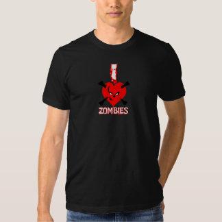 i heart zombies - shirt