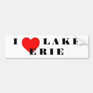 I heat Lake Erie Bumper Sticker