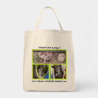 I helped save a Joey Tote Bag