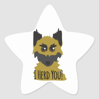 I Herd You! Star Stickers