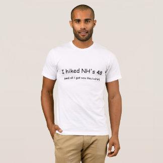 I Hiked NH's 48 T-shirt