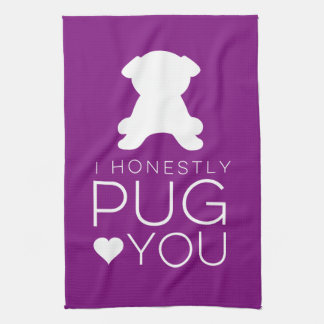 I Honestly Pug You Dish Towel