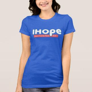 I Hope Christian Religion Bible Faith T-Shirt