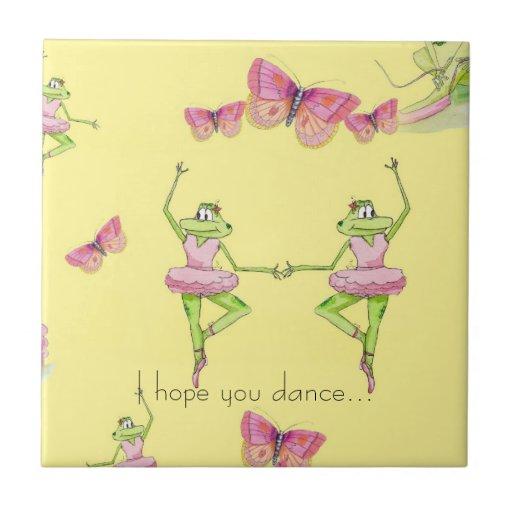 I hope you dance tile