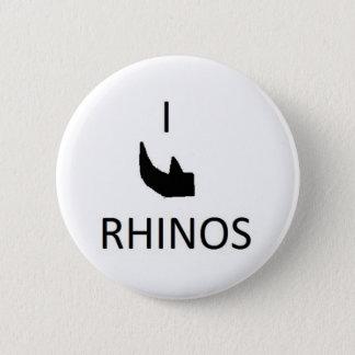 I horn rhinos button