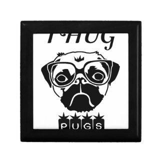 i hug pugs gift box