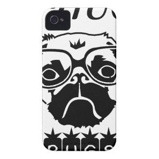 i hug pugs iPhone 4 case