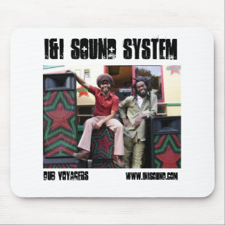 i&i sOUND sYSTEM DUB VOYAGERS mouse pad