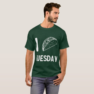 I (Illustrated) Taco Tuesday T-Shirt