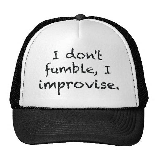 I Improvise Mesh Hats