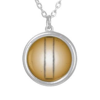 I initial letter pendant