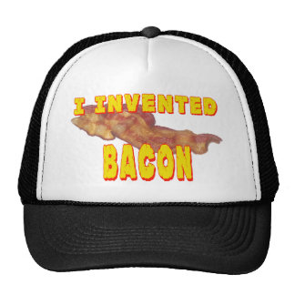 I Invented Bacon Trucker Hat