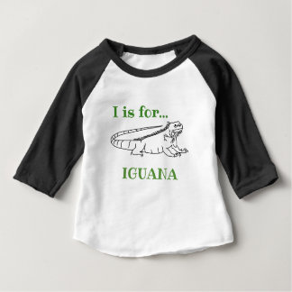 I is for Iguana Baby T-Shirt