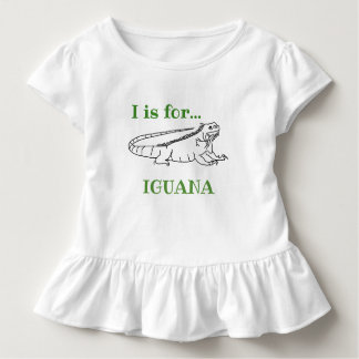 I is for Iguana Toddler T-shirt
