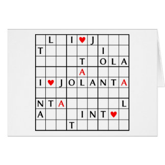I♥JOLANTA CARD