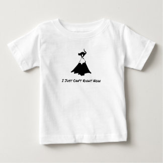 i Just Can't Right Now--Funny Cats Kimmi & C's T's Baby T-Shirt
