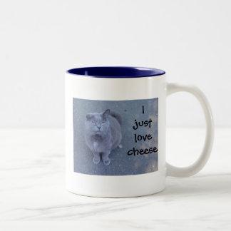 I just love cheese mug