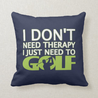 I just need to Golf Throw Pillow
