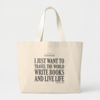 I Just Want To... Large Tote Bag