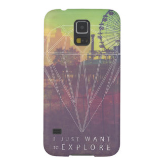 I Just Want ton of Explore Galaxy S5 Cases