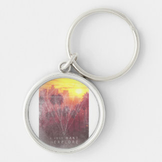I Just Want ton of Explore Keychain