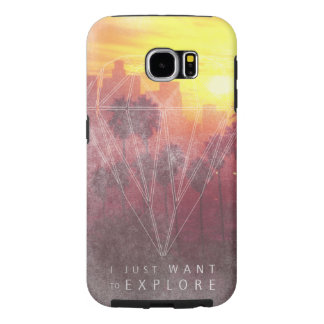 I Just Want ton of Explore Samsung Galaxy S6 Cases