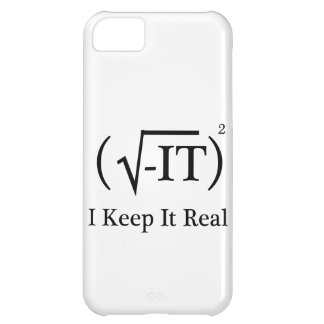 I Keep It Real iPhone 5C Cover