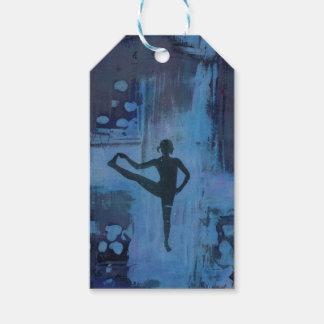 I Keep My Balance Yoga Girl Gift Tags