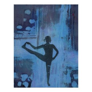 I Keep My Balance Yoga Girl Letterhead