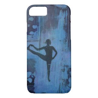 I Keep My Balance Yoga Girl  Phone Case