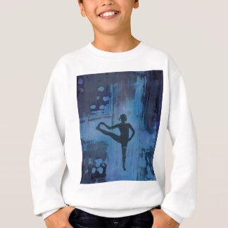 I Keep My Balance Yoga Girl Sweatshirt