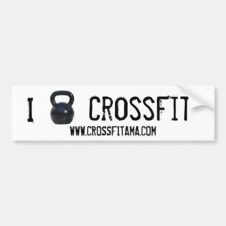 I kettlebell CrossFit Bumper Bumper Sticker