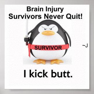 I Kick Butt! Poster