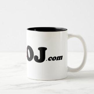 I Killed OJ Two-Tone Coffee Mug