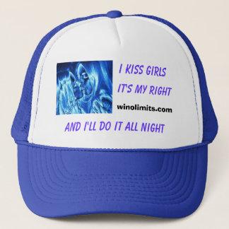 """""""I kiss girls all night"""" new Blue Hat"""