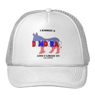 I Kissed a Democrat and I Liked It! Donkey Hat