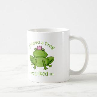 I kissed a Frog Mug